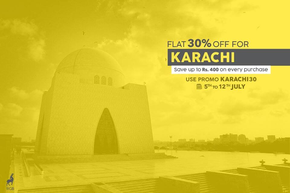 discounts in karachi